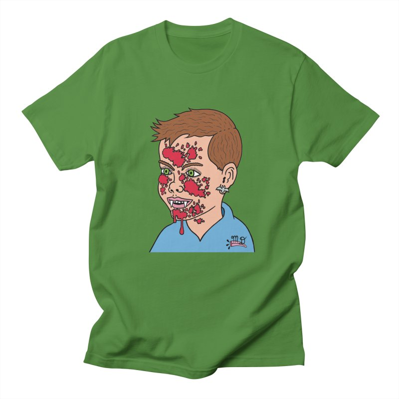 Vampire Kid Men's T-shirt by Mike Diana T-Shirts! Horrible Ugly Heads Limited E