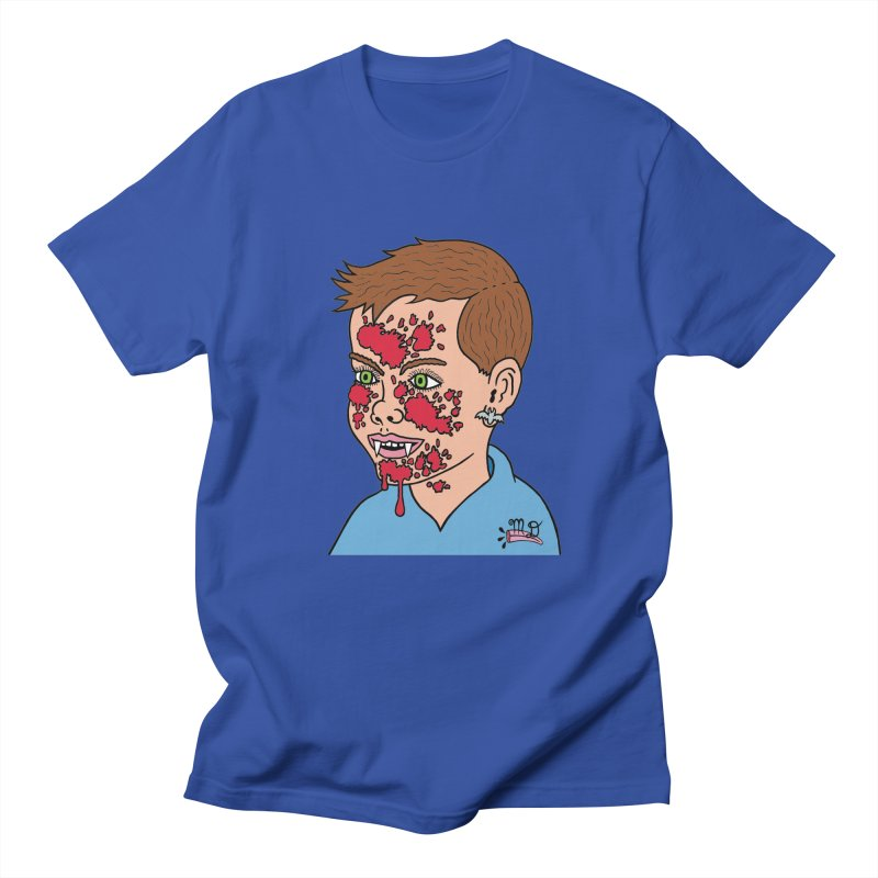 Vampire Kid Women's Unisex T-Shirt by Mike Diana T-Shirts! Horrible Ugly Heads Limited E