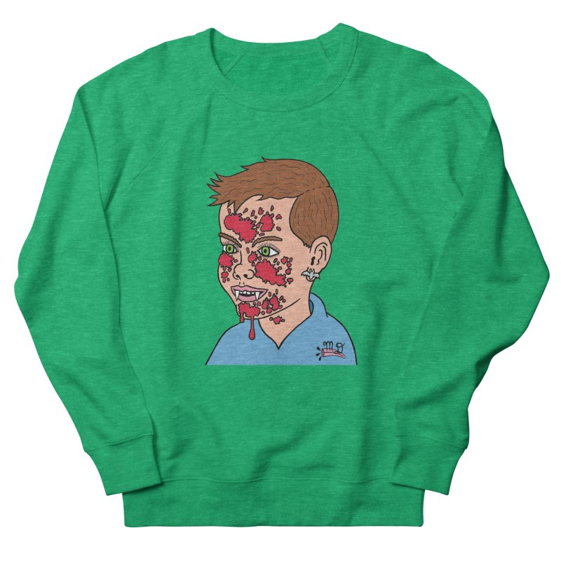 Vampire Kid Women's Sweatshirt by Mike Diana T-Shirts! Horrible Ugly Heads Limited E