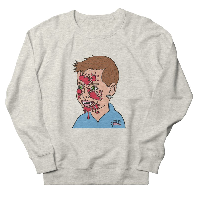 Vampire Kid Men's Sweatshirt by Mike Diana T-Shirts! Horrible Ugly Heads Limited E