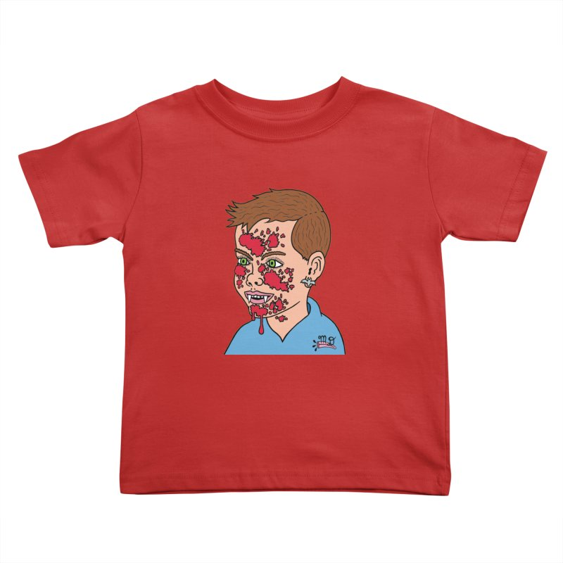 Vampire Kid Kids Toddler T-Shirt by Mike Diana T-Shirts! Horrible Ugly Heads Limited E