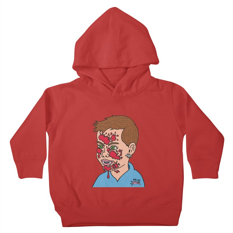 Vampire Kid Kids Toddler Pullover Hoody by Mike Diana T-Shirts! Horrible Ugly Heads Limited E