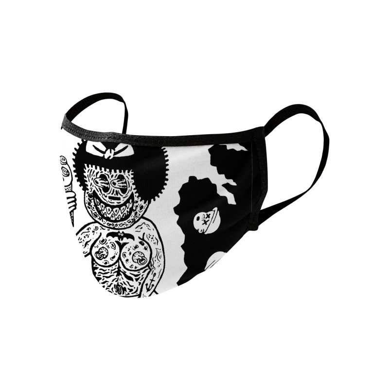 Nancy 'n Sluggo Face Mask Accessories Face Mask by Mike Diana T-Shirts Mugs and More!