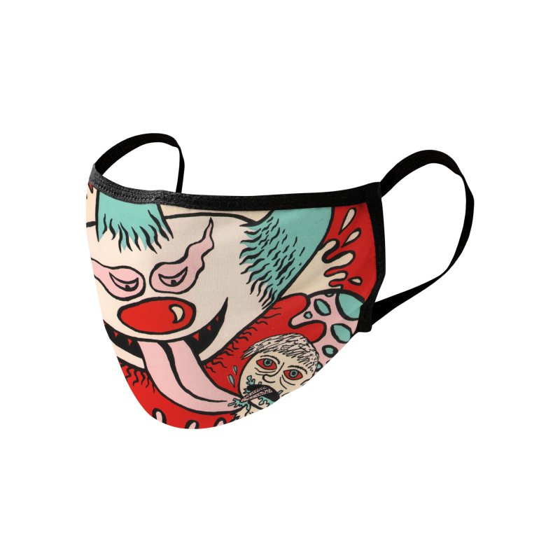 Cherry Bomb Revolution Face Mask Accessories Face Mask by Mike Diana Threadless