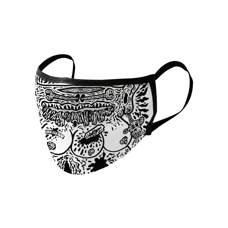 Boiled Angel 7 Full Face Mask Accessories Face Mask by Mike Diana T-Shirts Mugs and More!