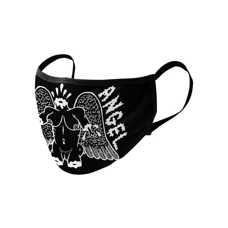 Boiled Angel Lives Black Matter Face Mask Accessories Face Mask by Mike Diana Threadless