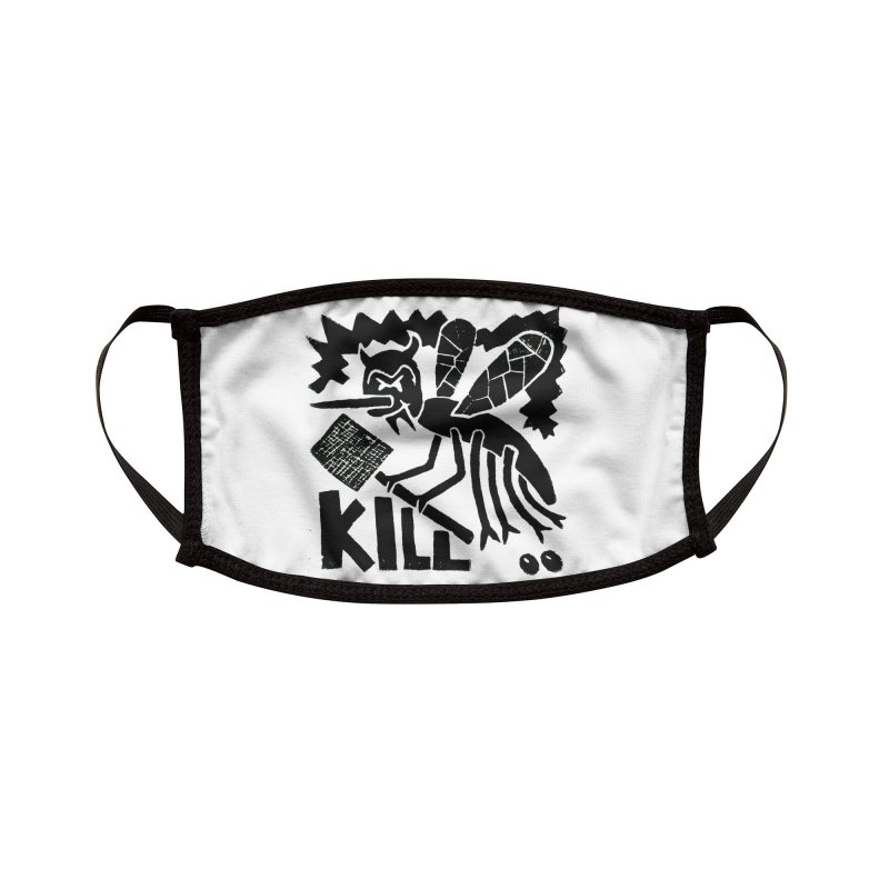Kill! Mike Diana! Kill! Kill! Kill! Face Mask Accessories Face Mask by Mike Diana Threadless