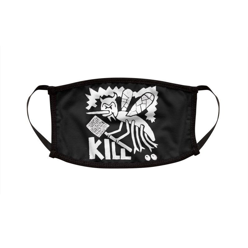 Kill! Mike Diana! Kill! Kill! Kill! Black Deathmask Accessories Face Mask by Mike Diana T-Shirts Mugs and More!