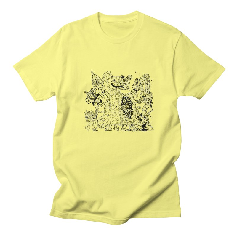 Half-Dead Freak Men's T-shirt by Mike Diana T-Shirts! Horrible Ugly Heads Limited E