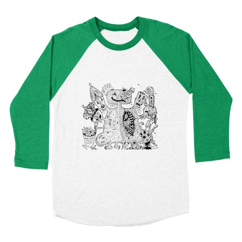 Half-Dead Freak   by Mike Diana T-Shirts! Horrible Ugly Heads Limited E