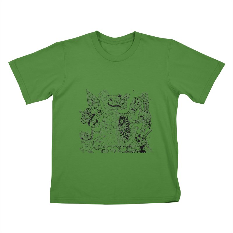 Half-Dead Freak Kids T-shirt by Mike Diana T-Shirts! Horrible Ugly Heads Limited E