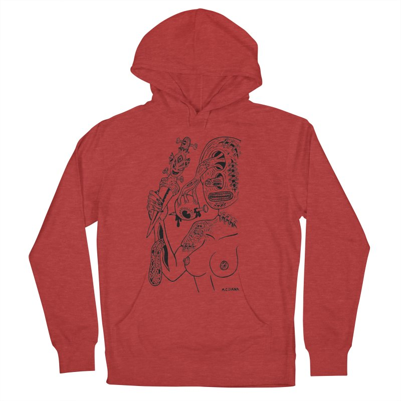 Another Boiled Angel  Women's Pullover Hoody by Mike Diana T-Shirts! Horrible Ugly Heads Limited E