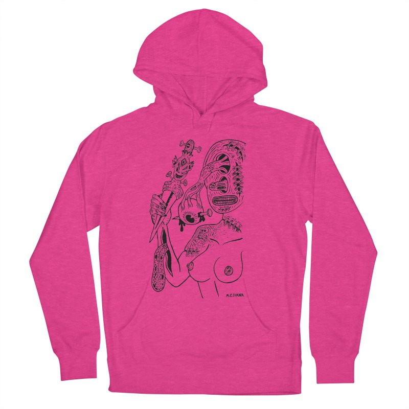 Another Boiled Angel Men's Pullover Hoody by Mike Diana T-Shirts! Horrible Ugly Heads Limited E