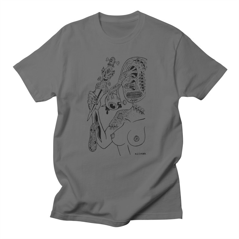 Another Boiled Angel Women's Unisex T-Shirt by Mike Diana T-Shirts! Horrible Ugly Heads Limited E