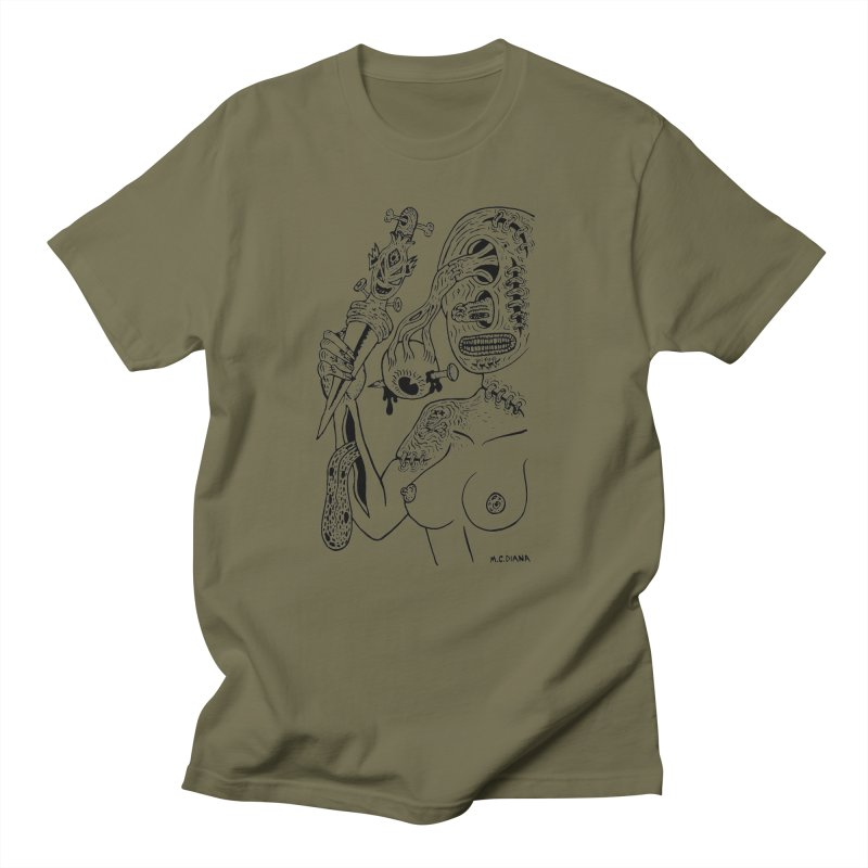 Another Boiled Angel  Men's T-shirt by Mike Diana T-Shirts! Horrible Ugly Heads Limited E