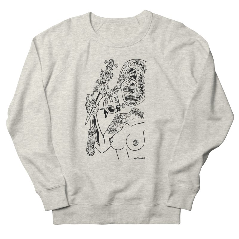 Another Boiled Angel Men's Sweatshirt by Mike Diana T-Shirts! Horrible Ugly Heads Limited E