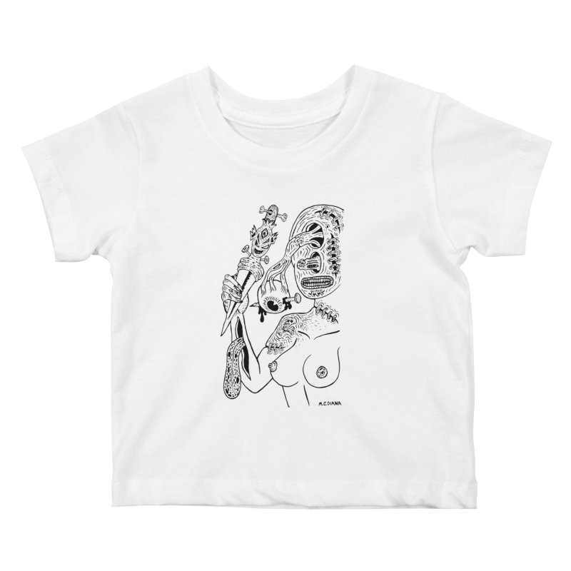Another Boiled Angel  Kids Baby T-Shirt by Mike Diana T-Shirts! Horrible Ugly Heads Limited E