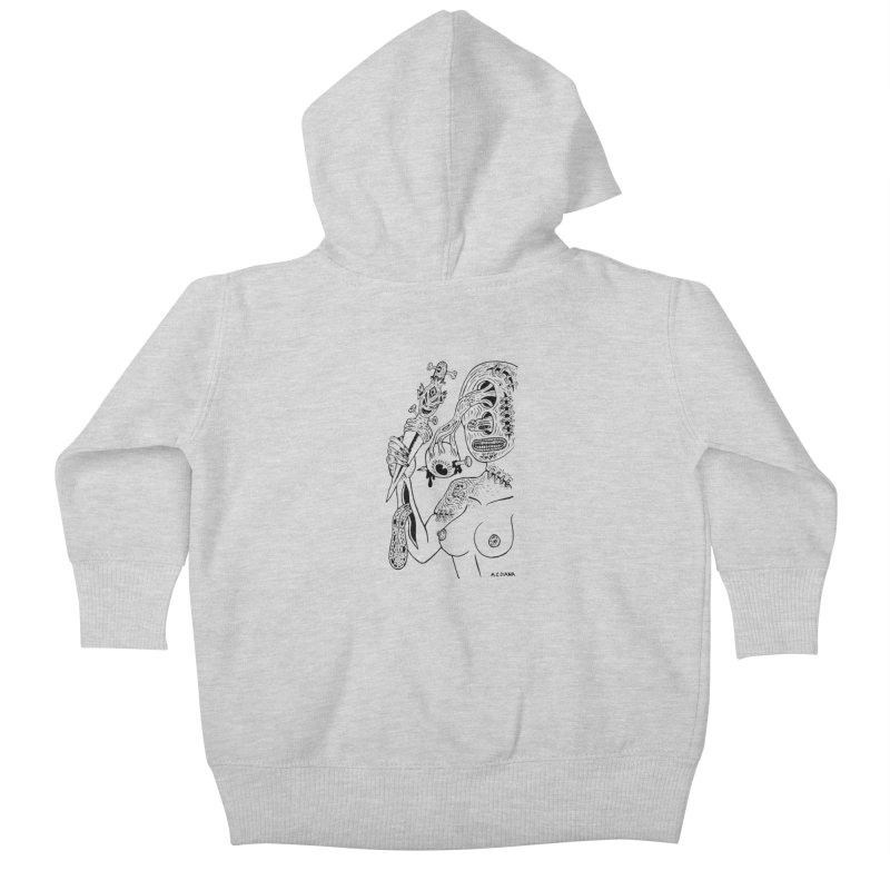 Another Boiled Angel Kids Baby Zip-Up Hoody by Mike Diana T-Shirts Mugs and More!