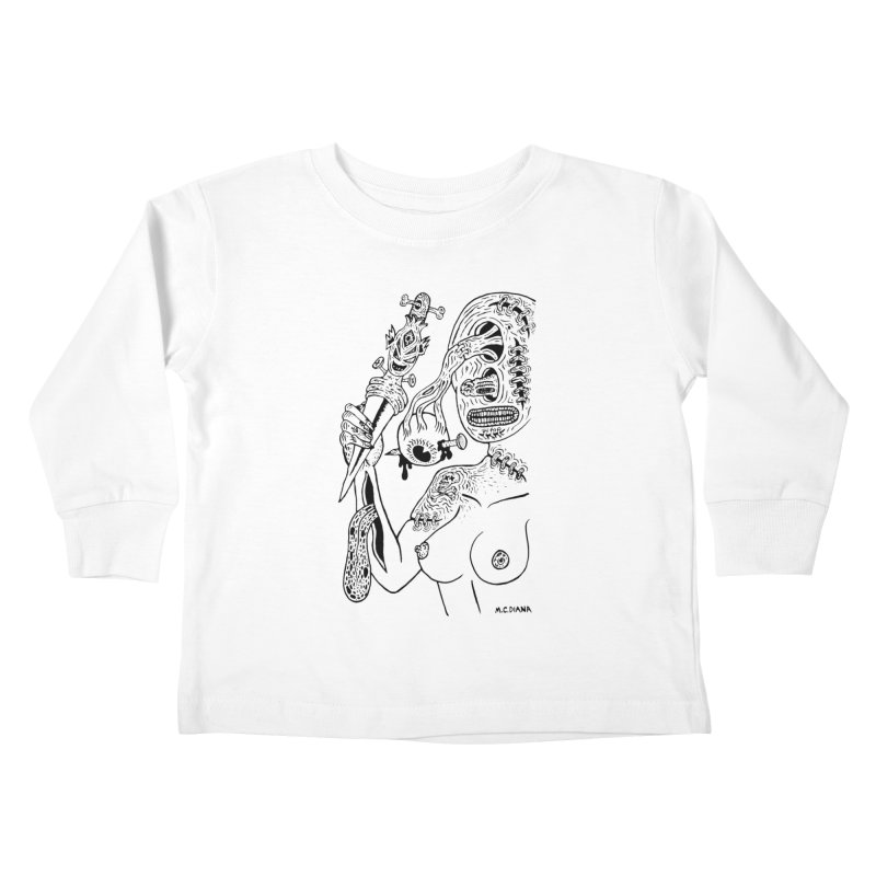 Another Boiled Angel Kids  by Mike Diana T-Shirts! Horrible Ugly Heads Limited E