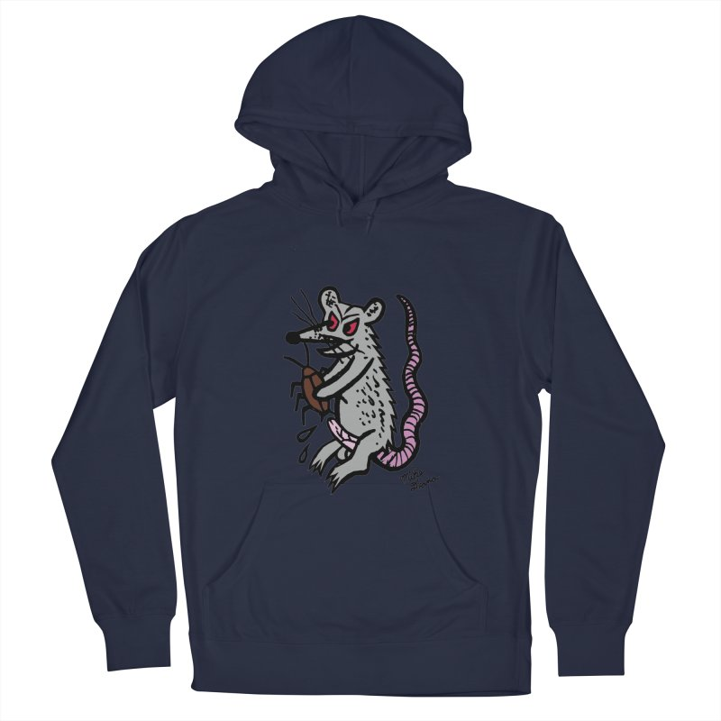 Ratty Women's Pullover Hoody by Mike Diana T-Shirts! Horrible Ugly Heads Limited E
