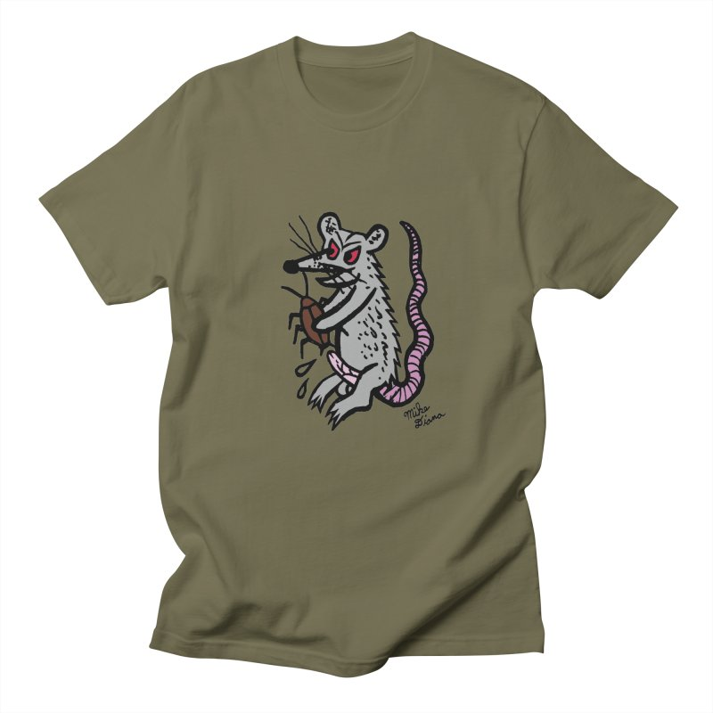 Ratty Men's  by Mike Diana T-Shirts! Horrible Ugly Heads Limited E