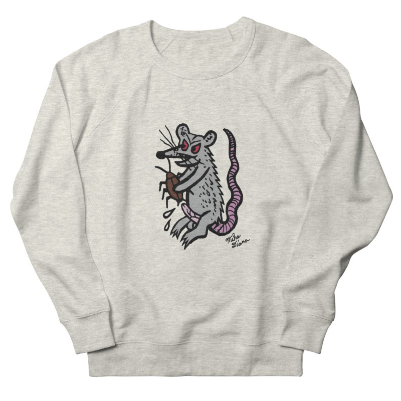 Ratty Men's Sweatshirt by Mike Diana T-Shirts! Horrible Ugly Heads Limited E