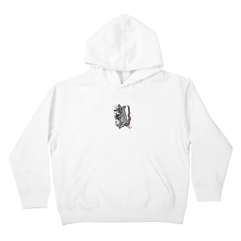 Ratty Kids Pullover Hoody by Mike Diana T-Shirts Mugs and More!