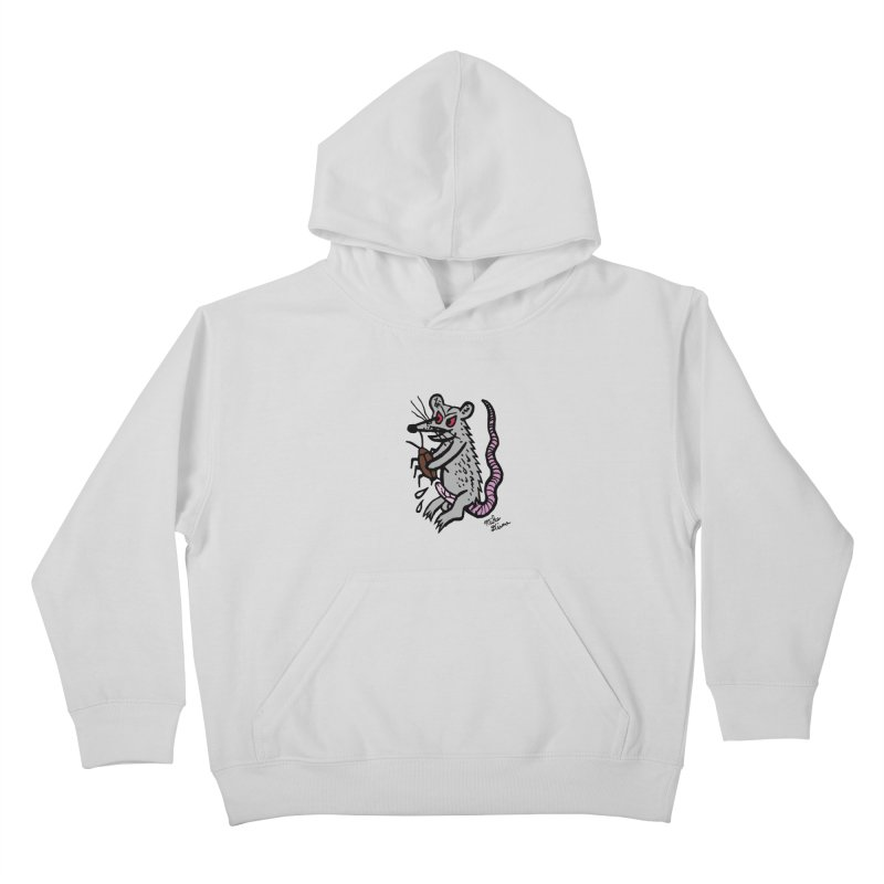 Ratty Kids Pullover Hoody by Mike Diana T-Shirts! Horrible Ugly Heads Limited E