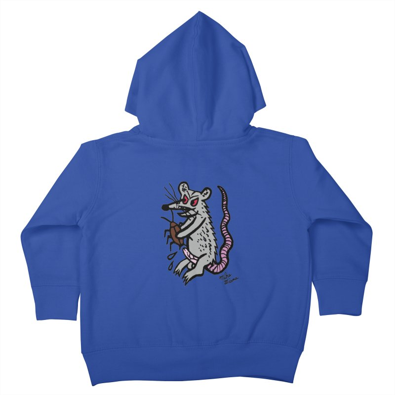 Ratty Kids Toddler Zip-Up Hoody by Mike Diana T-Shirts! Horrible Ugly Heads Limited E