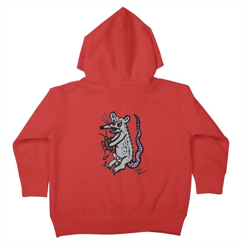 Ratty Kids Toddler Zip-Up Hoody by Mike Diana T-Shirts Mugs and More!