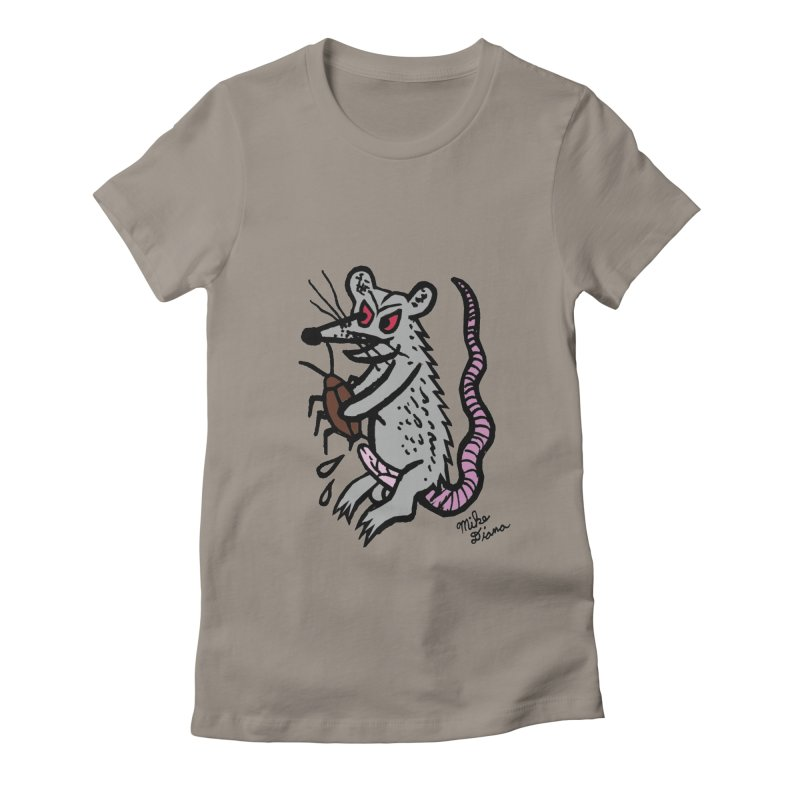 Ratty Women's  by Mike Diana T-Shirts! Horrible Ugly Heads Limited E