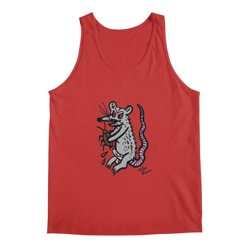 Ratty Men's Tank by Mike Diana T-Shirts! Horrible Ugly Heads Limited E