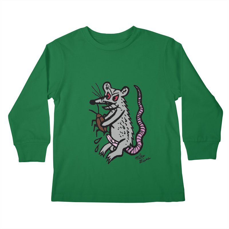 Ratty Kids Longsleeve T-Shirt by Mike Diana T-Shirts Mugs and More!