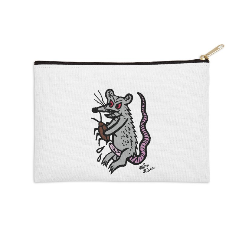 Ratty Accessories Zip Pouch by Mike Diana T-Shirts Mugs and More!