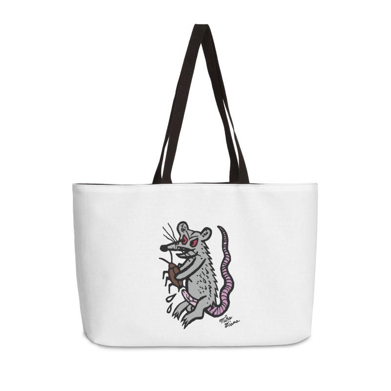 Ratty Accessories Weekender Bag Bag by Mike Diana T-Shirts Mugs and More!