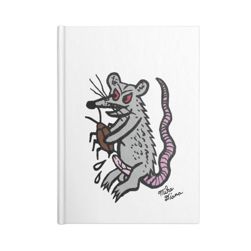 Ratty Accessories Notebook by Mike Diana T-Shirts! Horrible Ugly Heads Limited E
