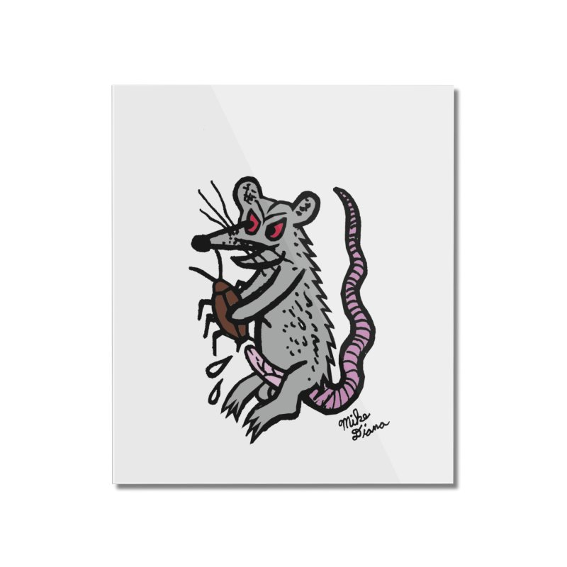 Ratty Home Mounted Acrylic Print by Mike Diana T-Shirts Mugs and More!