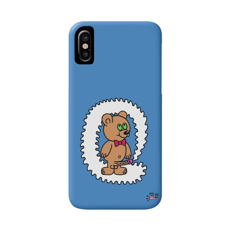 Cummie Bear Accessories Phone Case by Mike Diana T-Shirts! Horrible Ugly Heads Limited E