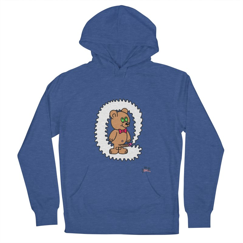 Cummie Bear Women's Pullover Hoody by Mike Diana T-Shirts! Horrible Ugly Heads Limited E