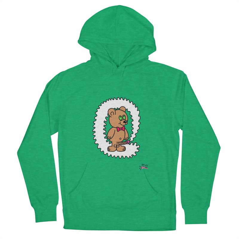 Cummie Bear Men's Pullover Hoody by Mike Diana T-Shirts! Horrible Ugly Heads Limited E