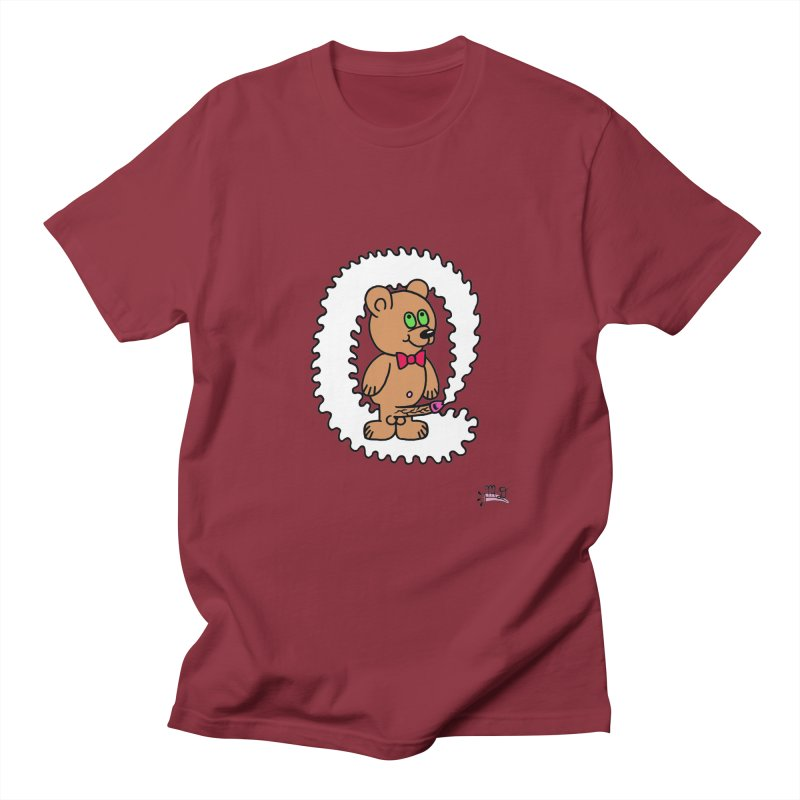Cummie Bear Women's Regular Unisex T-Shirt by Mike Diana T-Shirts Mugs and More!