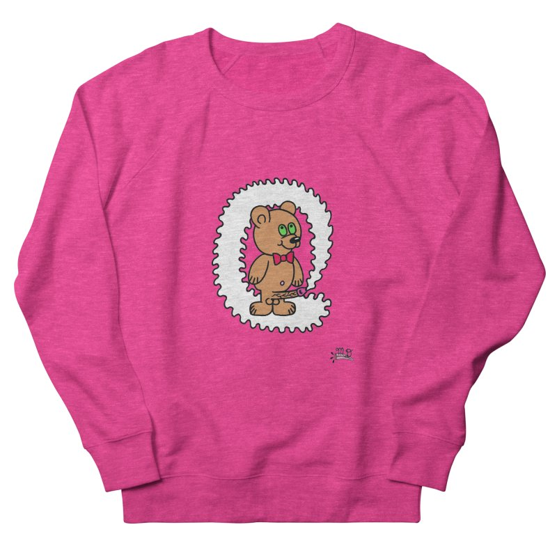 Cummie Bear Women's Sweatshirt by Mike Diana T-Shirts! Horrible Ugly Heads Limited E