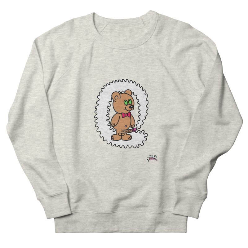 Cummie Bear Women's Sweatshirt by Mike Diana T-Shirts! Horrible Ugly Heads Limited E