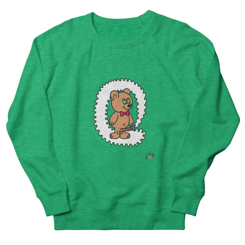 Cummie Bear Men's Sweatshirt by Mike Diana T-Shirts! Horrible Ugly Heads Limited E