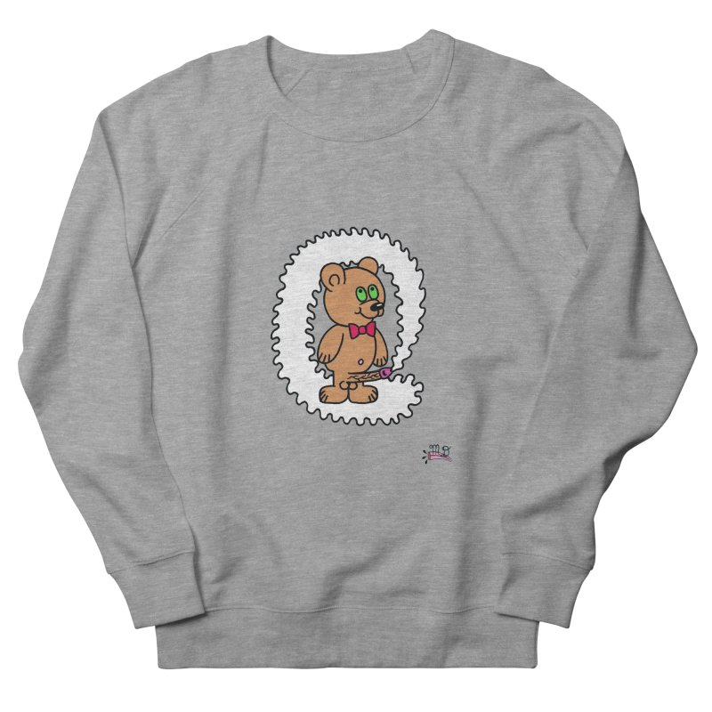 Cummie Bear Men's French Terry Sweatshirt by Mike Diana T-Shirts Mugs and More!