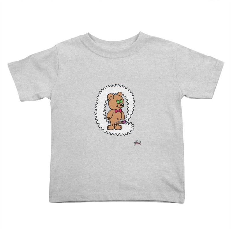 Cummie Bear Kids Toddler T-Shirt by Mike Diana T-Shirts Mugs and More!