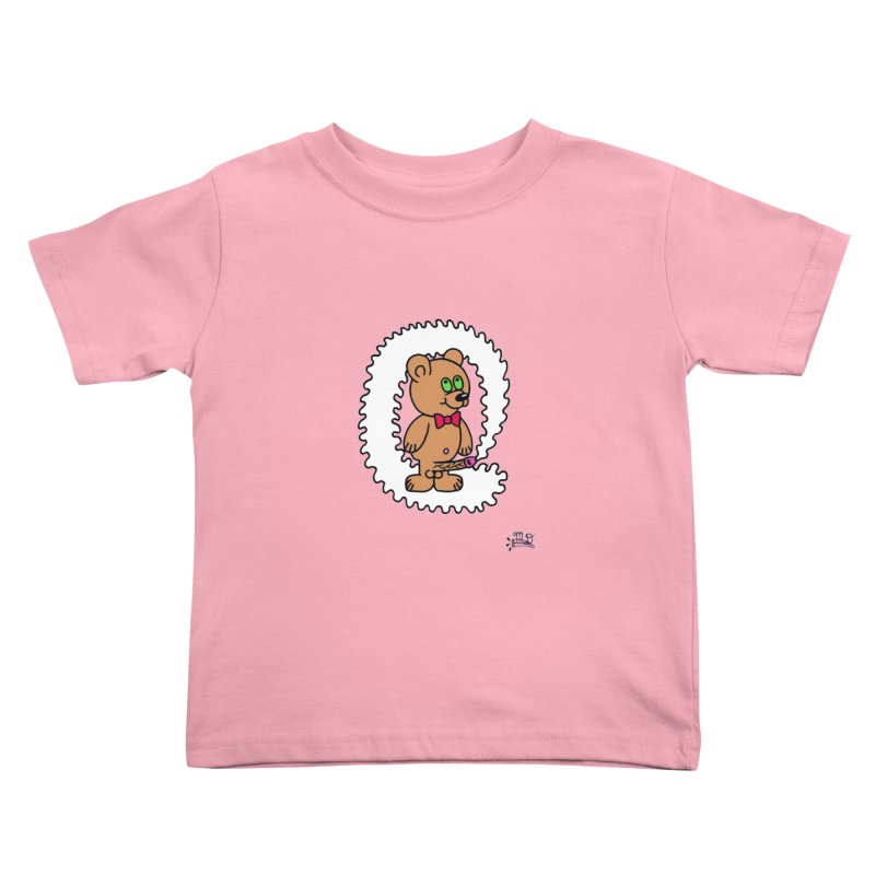 Cummie Bear Kids Toddler T-Shirt by Mike Diana T-Shirts! Horrible Ugly Heads Limited E