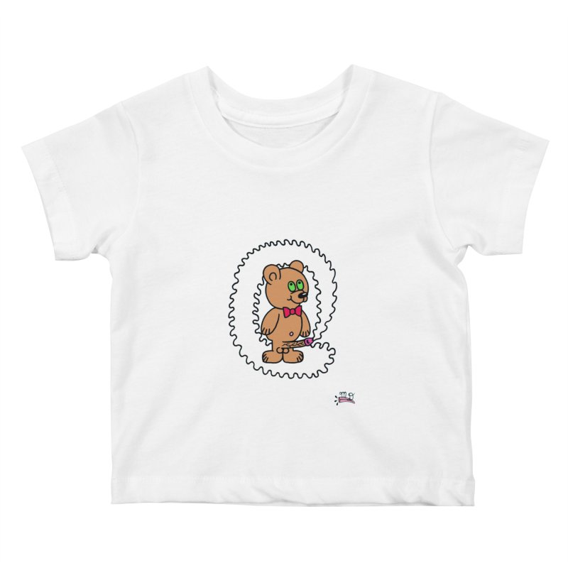 Cummie Bear Kids Baby T-Shirt by Mike Diana T-Shirts Mugs and More!