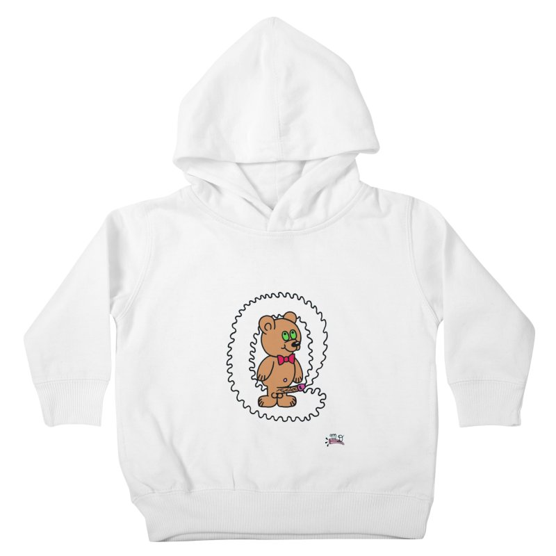 Cummie Bear Kids Toddler Pullover Hoody by Mike Diana T-Shirts Mugs and More!
