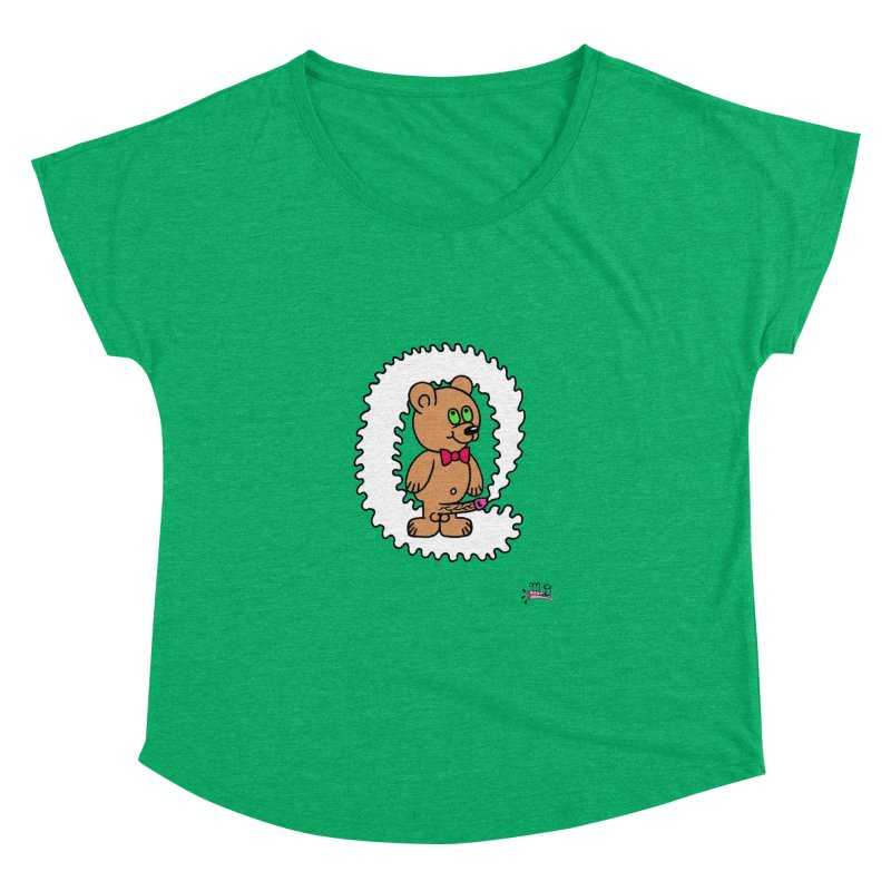 Cummie Bear Women's Dolman by Mike Diana T-Shirts! Horrible Ugly Heads Limited E